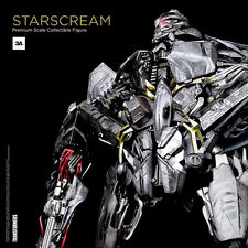 "THREEA TOYS TRANSFORMERS STARSCREAM PREMIUM SCALE 16"" FIGURE ~FACTORY SEALED~"