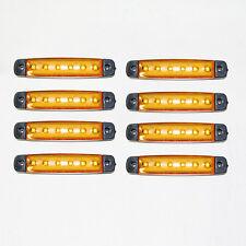 NEU 8x 12V LED orange Seitenblinker -Lichter Lampe für Renault Trafic Master