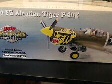 """MIB Rare GMP DieCast 1:35 Curtiss P-40E """"Aleutian Tiger"""" Col Chennault 343rd FG"""