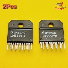 LM3886TF 68W Low Noise Audio Power Amplifier  Lot of 2 USA Stock