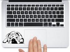 "Bulldog Napping Cute car truck SUV laptop macbook  decal Sticker 3.5"" Black"