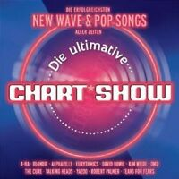 DIE ULTIMATIVE CHARTSHOW NEW WAVE UND POPSONGS 2 CD NEU