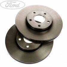Genuine Ford Focus Mk2 C-Max Front Vented Brake Disc Set PAIR 280mm x2 1734696