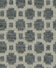 6 Colorways Small Scale Geometric Chenille Upholstery Fabric Neutral Beige Taupe
