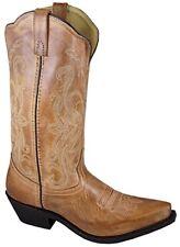 Smoky Mountain Boots Women's Western Snip Toe Cowboy Madison Tan, 6.5M