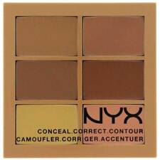 NYX Conceal, Correct, Contour Palette color -02 Medium + Free Shipping