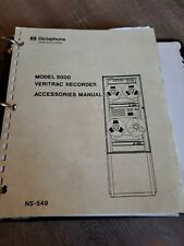 Dictaphone 5000 Veritrac Recorder Accessories Service Manual NS-549 in binder