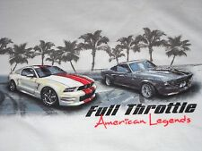 """High Performance Mustang Muscle T-Shirt Medium - """"Full Throttle""""  NEW w/Tags"""