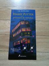 Marcapáginas Harry Potter y el prisionero de Azkaban