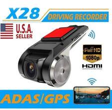 New listing X28 Fhd 1080P 150° Dash Cam Car Dvr Camera Recorder WiFi Adas G-sensor Us