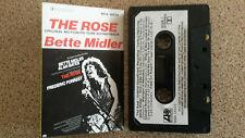 THE ROSE - SOUNDTRACK CASSETTE TAPE BETTE MIDLER
