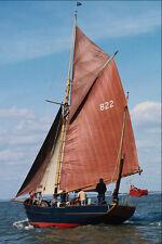 794017 East Coast Fishing Gaff Rigged A4 Photo Print