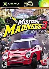 Midtown Madness 3 (Microsoft Xbox, 2003)      FAST SHIPPING !!!!!!     TESTED  !