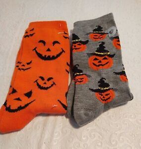 Two Pair Of Halloween Sox Just For You & Yours