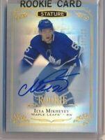 2019-20 Stature Rookie AUTO 156 Ilya Mikheyev /199 Toronto Maple Leafs
