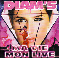 CD audio + DVD.../...DIAM'S.../...MA VIE.....MON LIVE....
