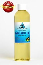AVOCADO OIL REFINED ORGANIC CARRIER COLD PRESSED FRESH 100% PURE 4 OZ