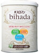 JAPANESE Bath Salt Ofuro Bihada Scent Lily with Collagen AHA Whitening