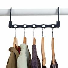 Set of 10 Magic Hangers Closet Space for Clothes