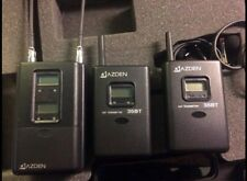 ENG Azden Lav Mic Kit, 2 Receivers, 2 Lav Mics, Wireless, Stereo Output, AA