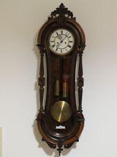 OLD BEAUTIFUL RARE COLLECTOR GUSTAV BECKER WALL CLOCK 1880y.  !!!