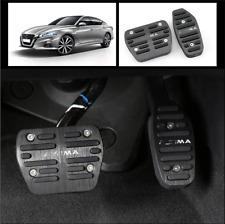 2pcs Black No Drilling Gas Brake Foot Pedal Cover AT For 2019 Nissan Altima