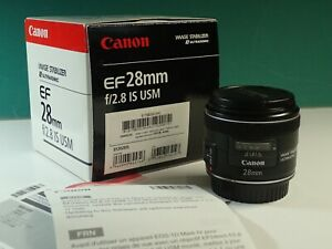 Canon 28mm f2.8 IS USM exc+++