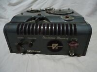 Vintage Webster Chicago RMA 375 Model 228-1 Wire Recorder for Parts / Repair