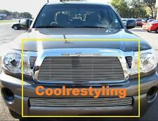 For 2011 11 Toyota Tacoma Billet Grille Grill Combo Inserts 4pcs