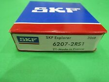(Qt.1 Skf) 6207-2Rs Skf Brand rubber seals bearing