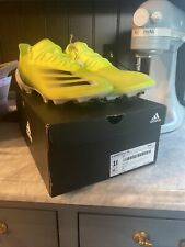 New listing $275 ADIDAS X GHOSTED + FIRM GROUNG SOCCER CLEATS FW6911 FG BOOTS FUTBOL YELLOW