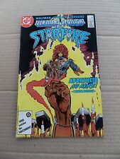 Teen Titans Spotlight 2 . Starfire . DC 1986 . FN / VF
