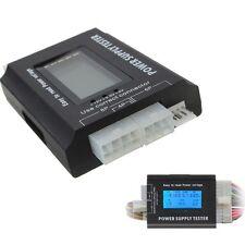 PC LCD 20/24 Pin PSU ATX SATA HD Power Supply Tester UK seller  #222
