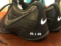 Nike Air Baseline Low Men's Basketball Shoes Black 386240-001 Men's Size 10.5 US