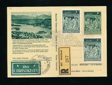 Christkindl-Reco Stille Nacht Bildpostkarte Pörtschach1968 LZ Pörtschach  (CH21)