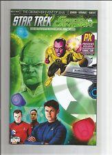 STAR TREK GREEN LANTERN SPECTRUM WAR #1 Ltd edition PX SDCC 2015 Exclusive! NM