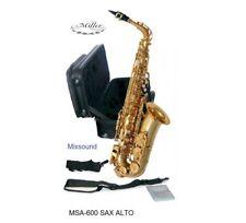 MILLER MSA-600 SAX CONTRALTO MIB chiave Fa# con ASTUCCIO MSA600 SASSOFONO ALTO