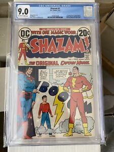 Shazam #1 DC Comics 1973 CGC 9.0