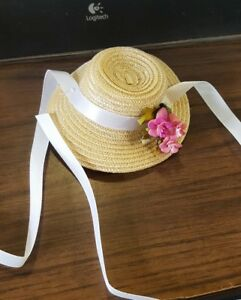 MINT 8 INCH Madame Alexander hat for 8 inch doll, from little collector