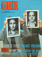 MAGAZINE OOR 1983 nr. 17 - CABARET VOLTAIRE / RUSH / DR. JOHN / WEATHER REPORT