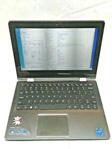 "Lenovo Ideapad Flex 4 11"" Mini Touch Used Laptop Small Crack Corner Screen JR"