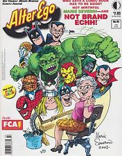 #95 ALTER EGO comic book magazine NOT BRAND ECCH