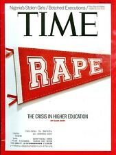 2014 Time Magazine: Rapes on College Campuses/Nigeria's Stolen Girls/Executions