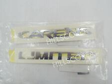 KIA RONDO / CARENS 2006-2012 Genuine OEM CARENS + LIMITED Emblem 2EA Set
