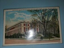 Vintage Postcard Administration And Main Buildings Michigan State Normal College