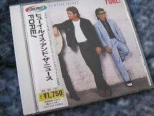 """HUEY LEWIS & THE NEWS CD """"FORE!"""" JAPANESE IMPORT CD WITH OBI"""