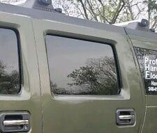 2003 - 2007 Hummer H2 Driver Side Left Rear Door Window Glass Stock Oem Tinted