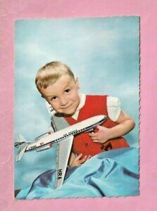 ENFANT - AVION CARAVELLE AIR FRANCE - JOUET MONT BLANC ou JOUSTRA -