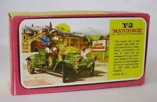 Repro Box Matchbox MOY Nr.02 1911 Renault 2 Seater Blisterbox
