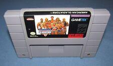 American Gladiators (Super Nintendo Entertainment System, 1993) RARE